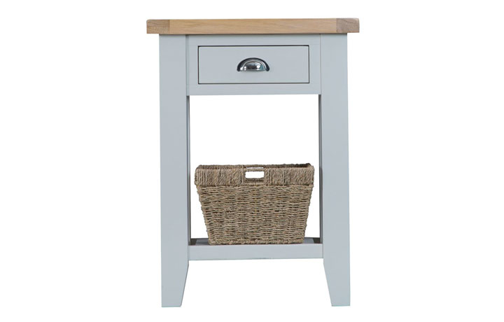 Regency Grey Painted Collection - Regency Grey Painted Telephone Table