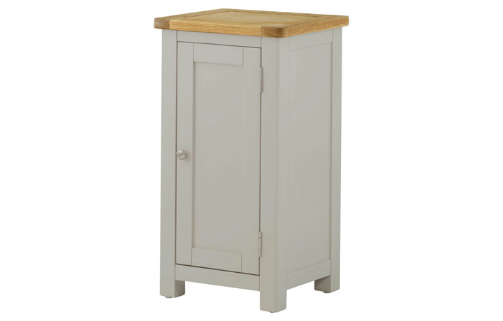Sideboards & Cabinets - Pembroke Stone Painted 1 Door Cabinet