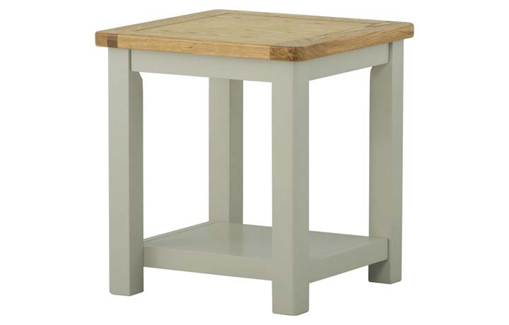 Coffee & Lamp Tables - Pembroke Stone Painted Lamp Table