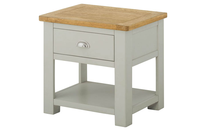 coffee-tables - Pembroke Lamp Table with Drawer