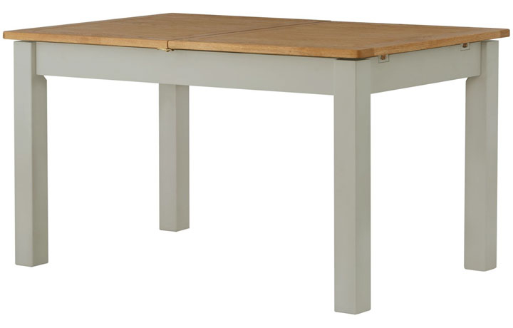 Dining Tables - Pembroke Stone Painted 140-180cm Extending Dining Table