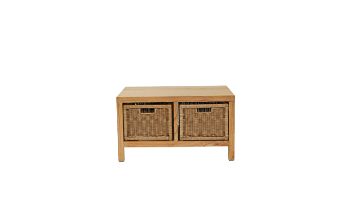 Daro - Alexandra Rattan Range - Alexandra Coffee Table with Baskets