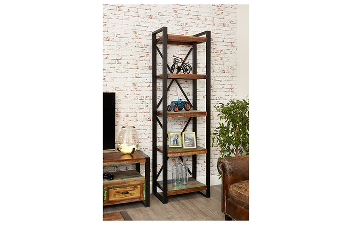 bookcases - Mali Reclaimed Alcove Bookcase
