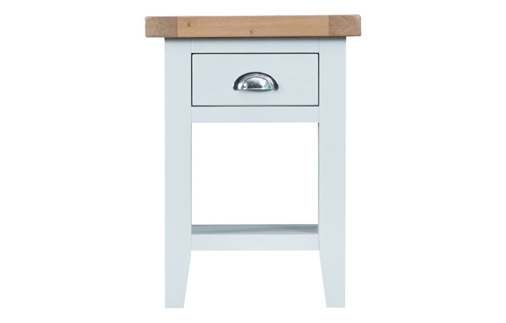 Regency White Painted Collection - Regency White Painted Side Table