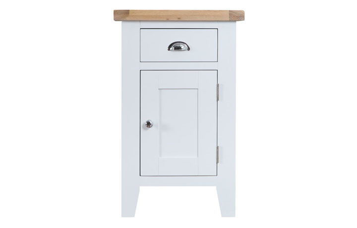 Regency White Painted Collection - Regency White Painted Small Cupboard