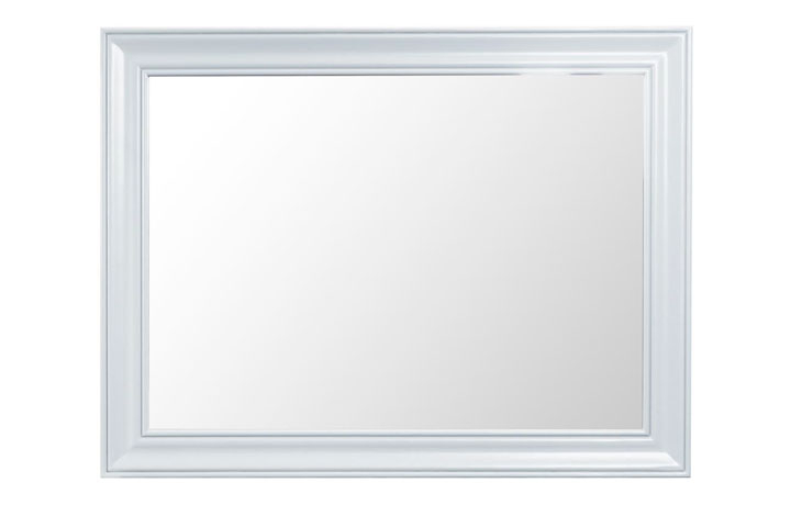 Regency White Painted Collection - Regency White Painted Large Mirror