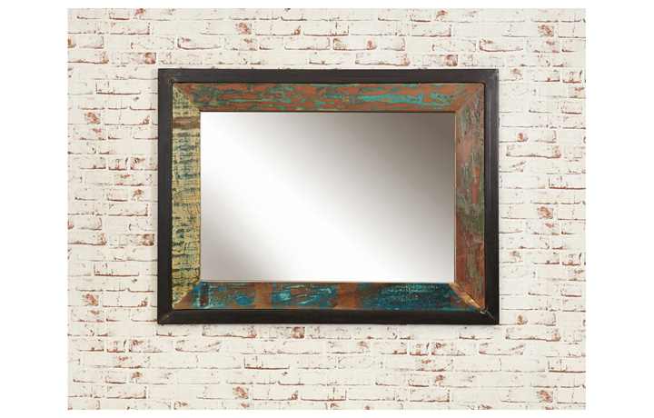 Mirrors - Mali Reclaimed Mirror large (Hangs landscape or portrait)