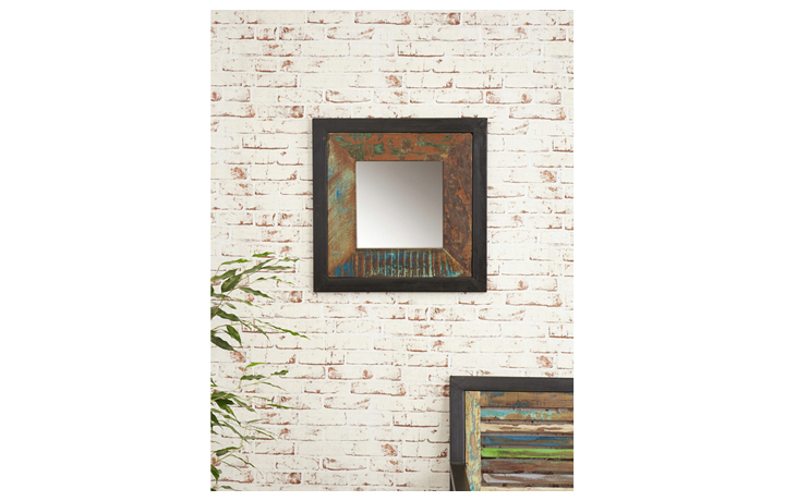 Mirrors - Mali Reclaimed Mirror small (Hangs landscape or portrait)