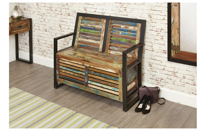 Benches - Mali Reclaimed Storage Monks Bench