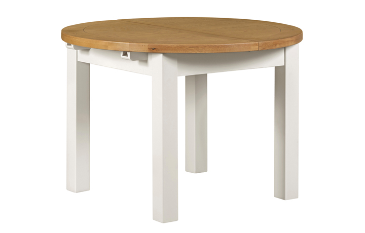 dining-tables - Wexford White Painted Circular Dining Table