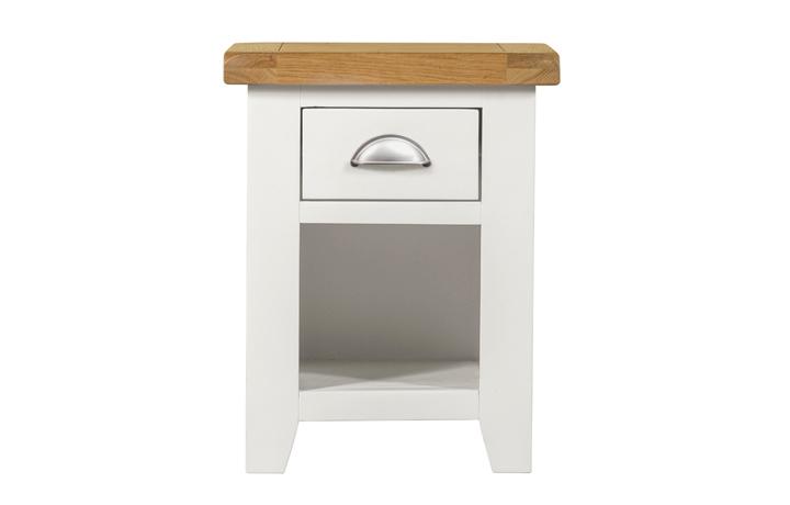 Bedsides - Eden Ivory Painted Small 1 Drawer Bedside