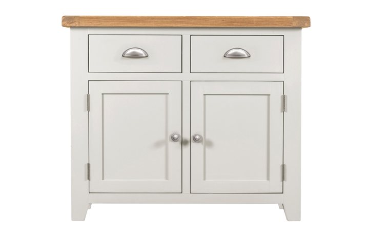 Wexford White Painted Range - Wexford White Painted 2 Door 2 Drawers Sideboard