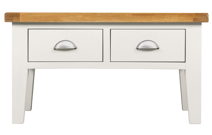 Wexford White Painted Range - Wexford White Painted Coffee Table With Drawers