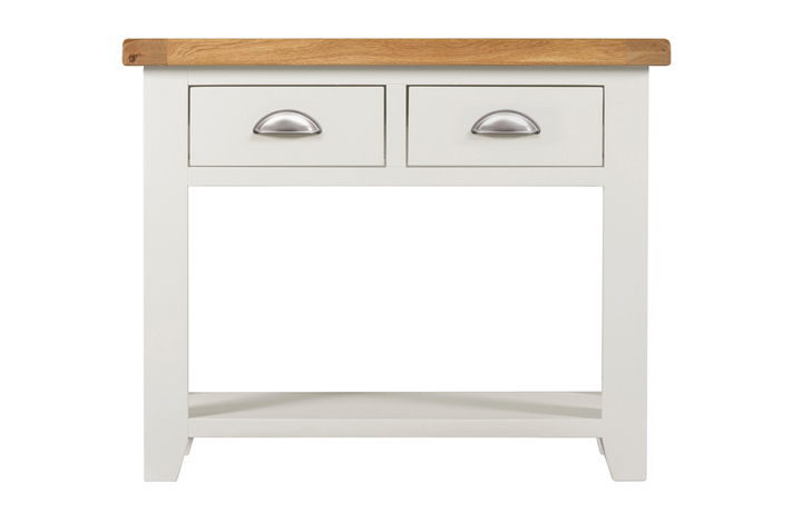 Wexford White Painted Range - Wexford White Painted Console Table 2 Drawers