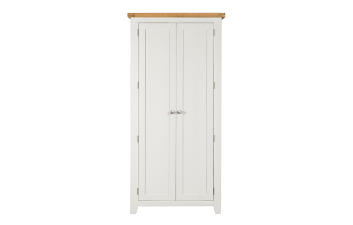 Wexford White Painted Range - Wexford White Painted Full Hanging Robe
