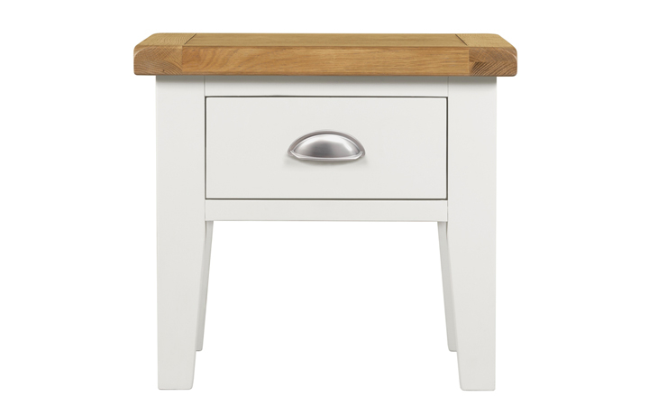 Wexford White Painted Range - Wexford White Painted Lamp Table With Drawer