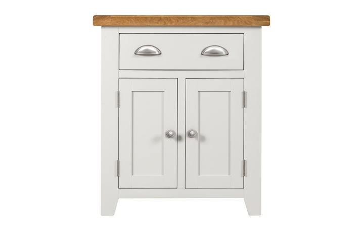 Wexford White Painted Range - Wexford White Painted Small Sideboard 2 Doors 1 Drawer