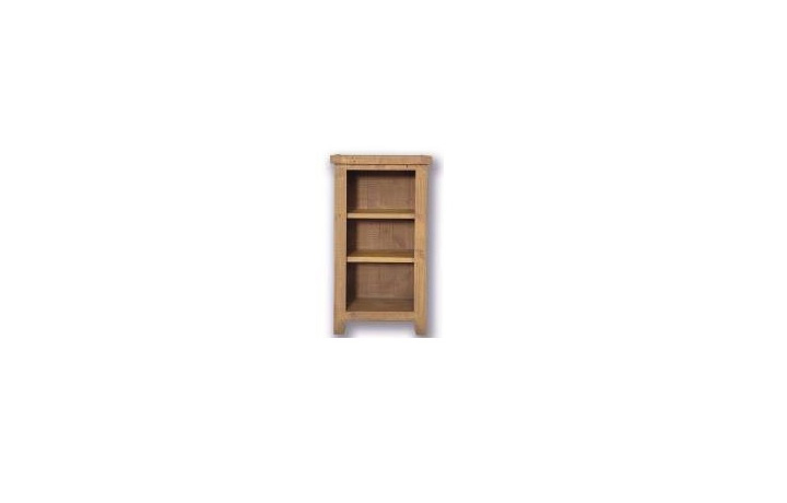 Dunwich Reclaimed Pine Range - Dunwich Reclaimed Pine Small Bookcase/DVD Rack
