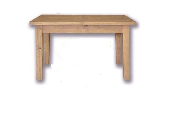 tables - Dunwich Reclaimed Pine 120cm Extending Dining Table