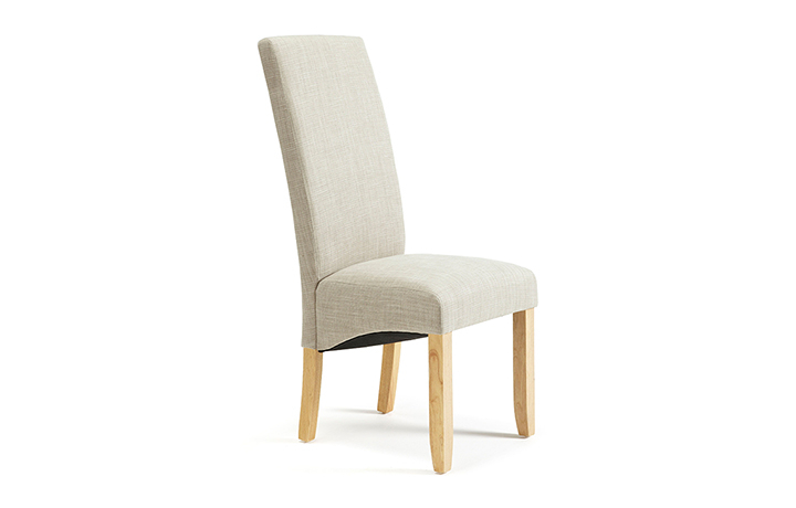 Chairs & Bar Stools - Merton Linen Dining Chair