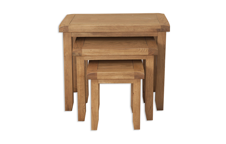 Nested Tables - Windsor Rustic Oak Nest Of Tables