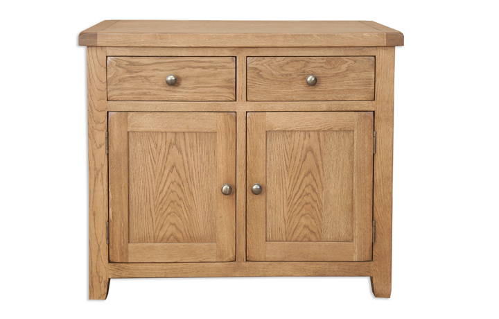 Windsor Rustic Oak - Windsor Rustic Oak 2 Door Sideboard