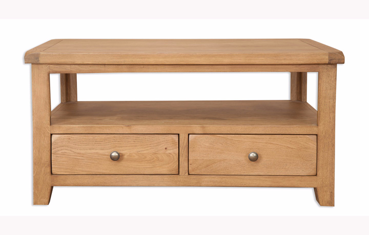 Windsor Rustic Oak - Windsor Rustic Oak Coffee/TV Table