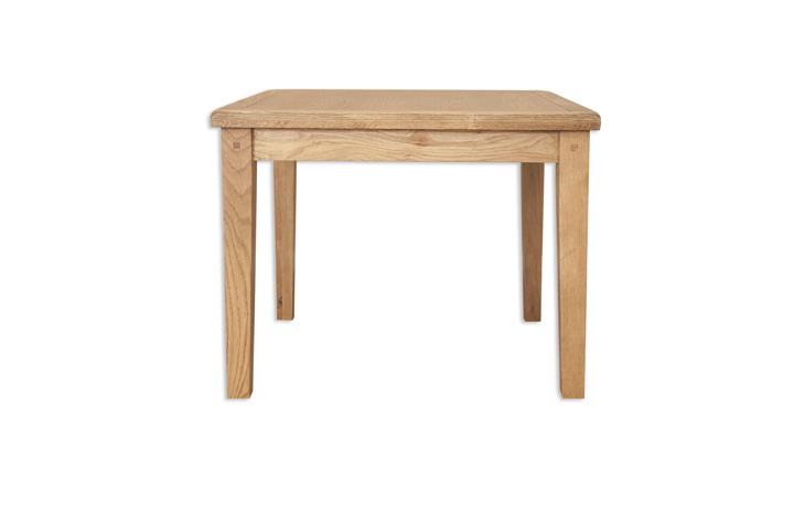 Dining Tables - Windsor Rustic Oak 90cm Square Dining Table