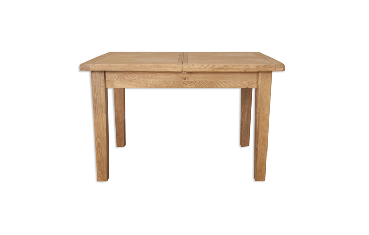 dining-tables - Windsor Rustic Oak 120cm Extending Dining Table