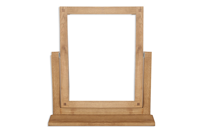 mirrors - Windsor Rustic Oak Dressing Mirror