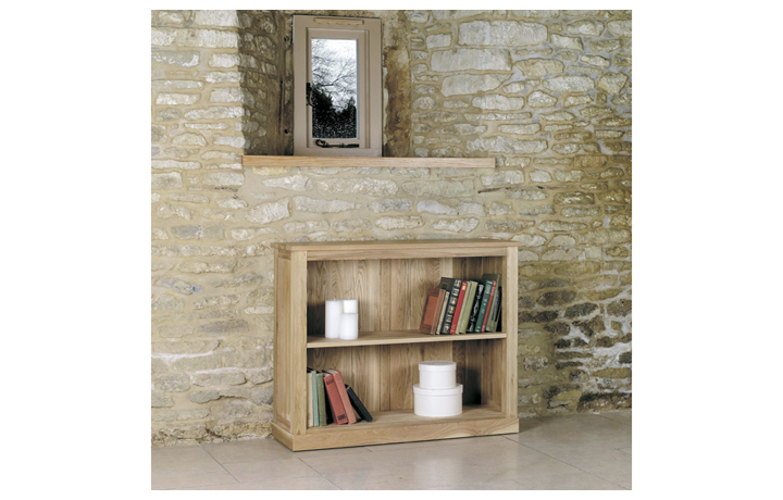 Bookcases - Pacific Oak Low Bookcase