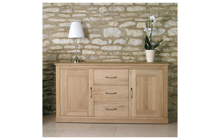 Pacific Oak Furniture Range (Web Exclusive) - Pacific Oak  Large Sideboard
