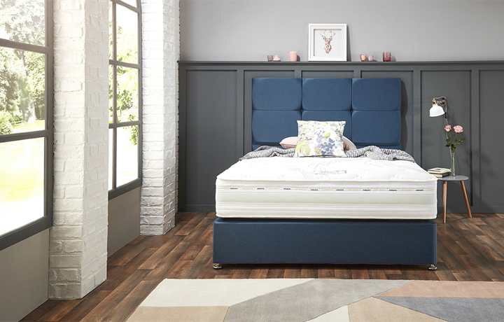 5ft-king-size-mattress-and-divan-bases - 5ft King Size Assenza Space 1000 Mattress With 2 Drawer Bases