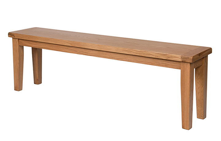 Essex Rustic Oak Furniture Range - Essex Rustic Oak Large Bench