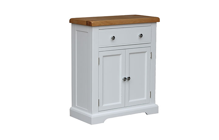Suffolk Painted Collection White, Grey, Cream & Stone - Suffolk Painted 1 Drawer 2 Door Unit