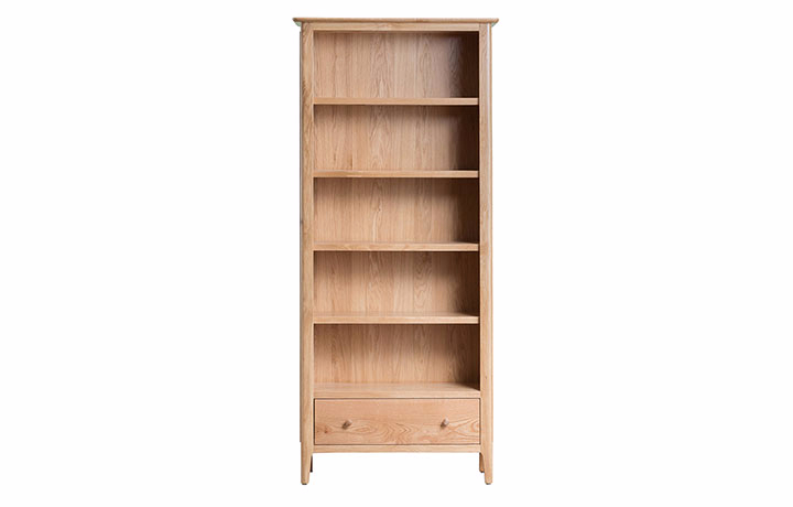 Bookcases - Odense Oak Large Bookcase