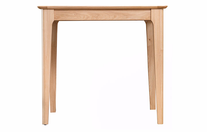 Dining Tables - Odense Oak Small fixed Top 85cm Dining Table