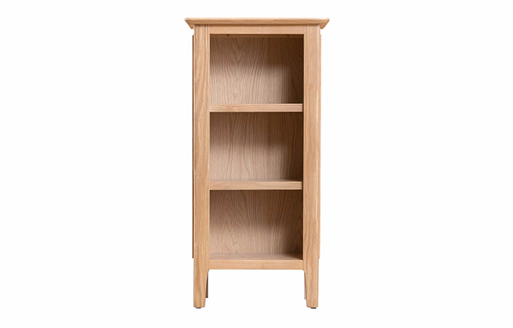 Odense Oak Furniture Collection - Odense Oak Small Narrow Bookcase