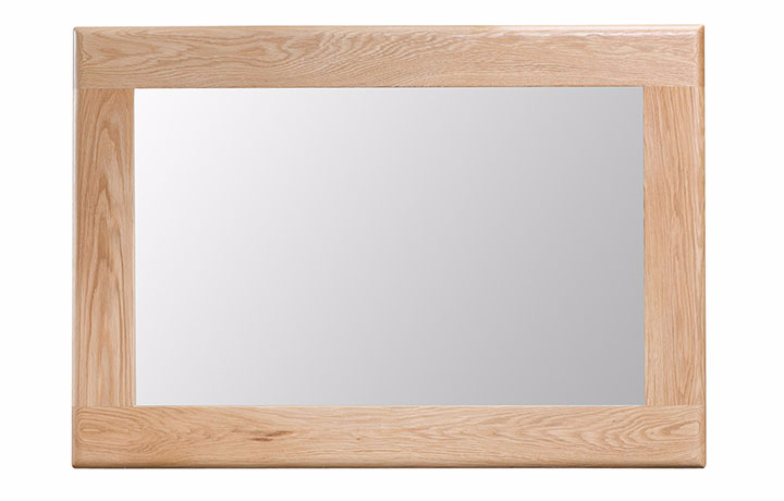 Odense Oak Furniture Collection - Odense Oak Wall Mirror