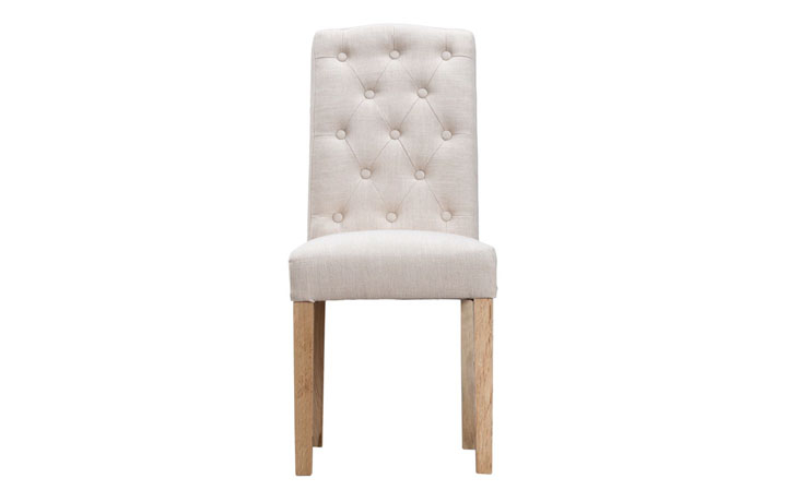 Odense Oak Furniture Collection - Vienna Beige Upholstered Chair