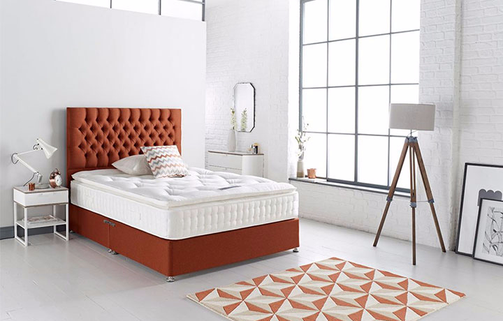 3ft-single-mattress-and-divan-bases - 3ft Single Britten 3000 Pocket Sprung Mattress With Divan Base