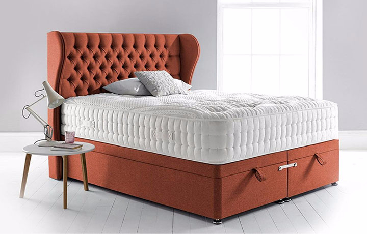 3ft-single-mattress-and-divan-bases - 3ft Single Space 3000 Mattress With Divan Base