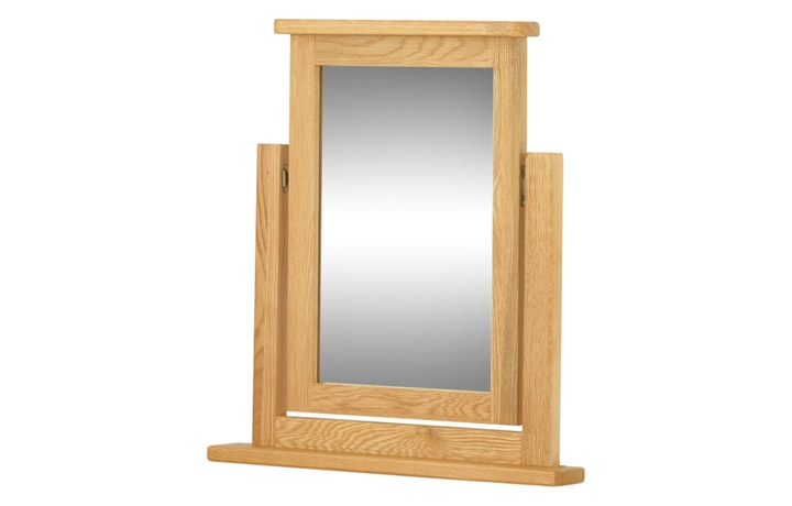 mirrors - Pembroke Dressing Table Mirror-oak