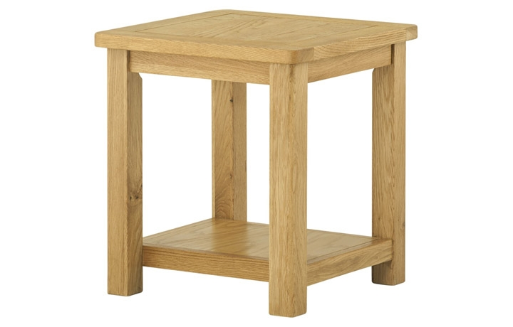 coffee-tables - Pembroke Lamp Table-oak
