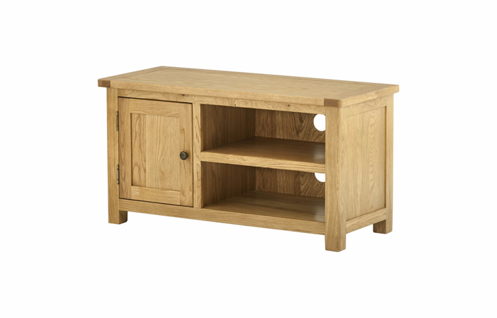 TV Cabinets - Pembroke Oak TV Cabinet