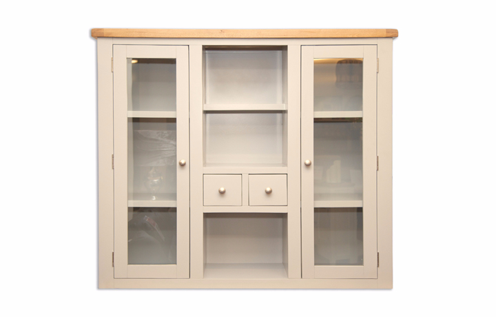 Dressers - Chelsworth Ivory Painted Large Dresser Top