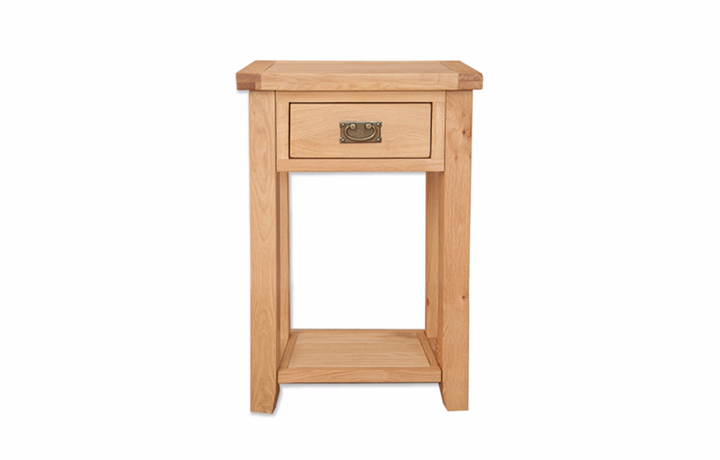 consoles - Windsor Oak - Living - 1 Drawer Console Table