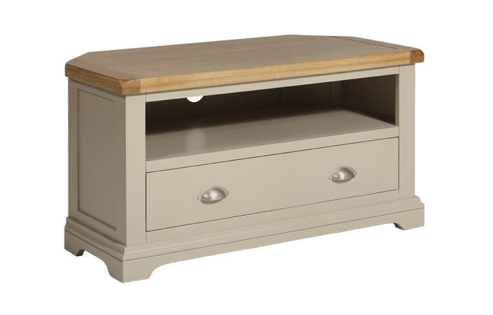 henley-truffle-painted-collection - Henley Truffle Corner TV Cabinet