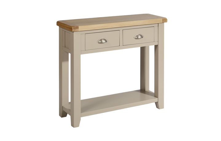 henley-truffle-painted-collection - Henley Truffle 2 Drawer Console