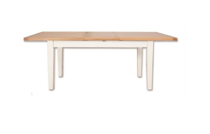 dining-tables - Henley Sage Painted 160cm Extending Dining Table